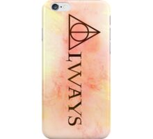 Harry Potter Always Background iPhone Case/Skin