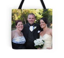 Anne, Brett and Kelly Tote Bag