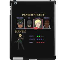 Retro Outlawed Justice Player Select - Mantis iPad Case/Skin