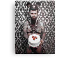 cake? Metal Print