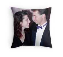 Fiona and Bruce Throw Pillow