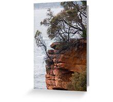 Coastal Cliff Greeting Card