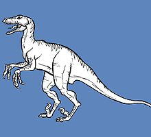 Velociraptor by Kristel Mallet