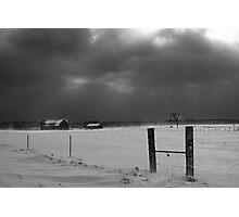 Snow Storm Photographic Print