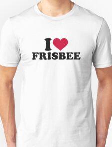 I love Frisbee Unisex T-Shirt