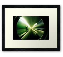 Inner City Vortex - Sydney. Framed Print