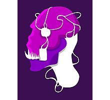 Strung Skull Photographic Print