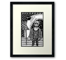 New Age Outrgage Framed Print