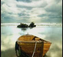The Old Boat by Carlos Casamayor