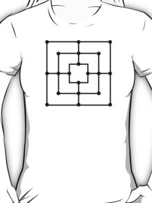 Nine men's morris T-Shirt