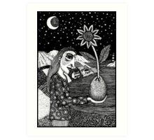 Birth Of Narcissus Art Print