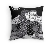 Love In A Cold Hard Landscape Throw Pillow