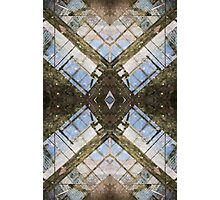 Abstract Urban reflection Photographic Print