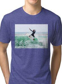 Surfing Southern California Tri-blend T-Shirt