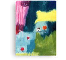 Lollipoptree cottage Canvas Print