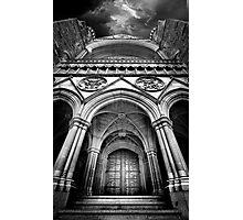 Doorway to The Transept Photographic Print