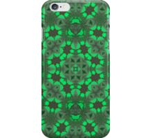 Abstract Pattern Green iPhone Case/Skin