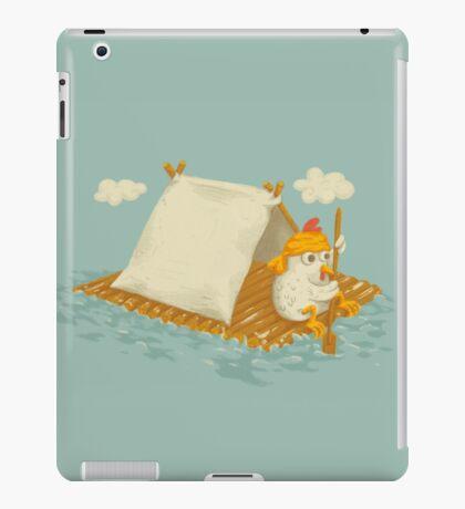 Chicken on a Raft iPad Case/Skin