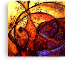 The Double Vision Canvas Print