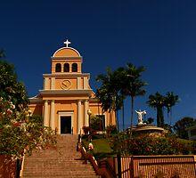La Monserrate Church by Roberto Perez