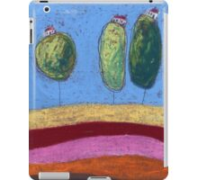 Three tree houses iPad Case/Skin