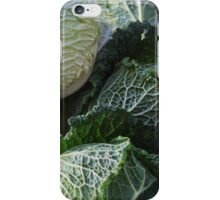 Cabage and Red Beets iPhone Case/Skin