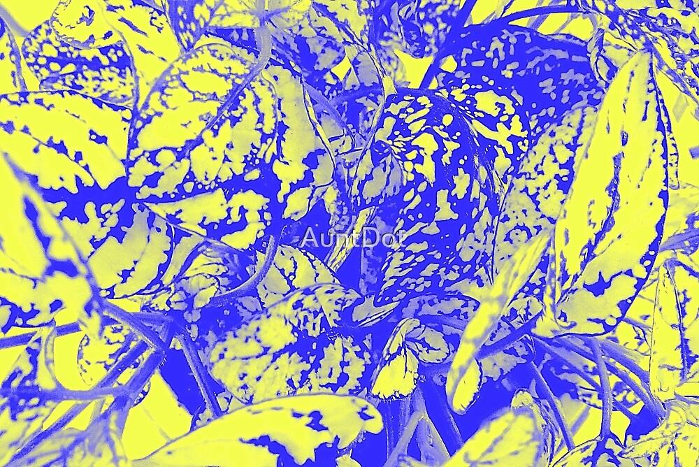 Blue and Yellow Foliage by AuntDot