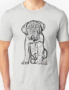 Dogue De Bordeaux Puppy Unisex T-Shirt