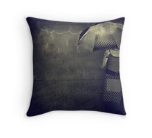 Never Rains But It Pours Throw Pillow