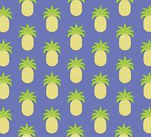 Pineapple Pattern by Jackclarke