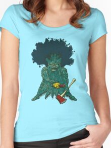 Hardwood Women's Fitted Scoop T-Shirt
