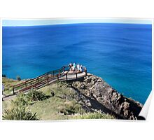 Byron Bay Lookout Poster