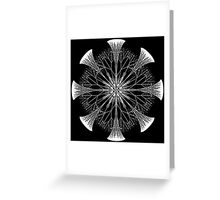 Snowflakes are Dancing Greeting Card