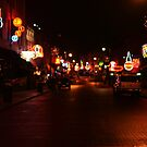 Beale Street in Memphis by Susan Russell