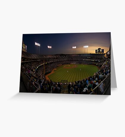 A Night at the Colosseum  Greeting Card