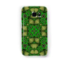 Abstract Pattern green yellow Samsung Galaxy Case/Skin