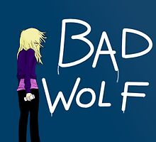 Bad Wolf leaves her mark by DrowsyAurora
