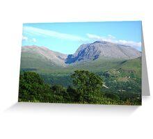 a stunning United Kingdom landscape Greeting Card