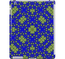Blue Yellow Pattern iPad Case/Skin