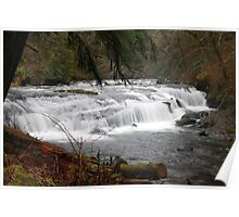Sweet Creek Rapids #3 Poster