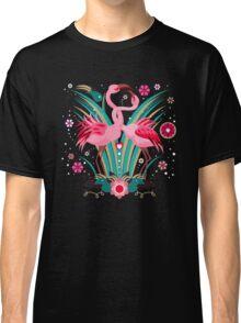 LOVE & FLAMINGO  Classic T-Shirt