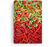 Chilis Canvas Print
