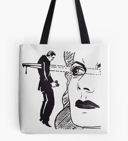 Eyeliner on Point Tote Bag