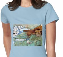 Peeling Away the Layers of Time Womens Fitted T-Shirt