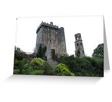 Blarney Castle & Tower Greeting Card