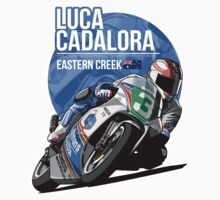Luca Cadalora - 1991 Eastern Creek One Piece - Short Sleeve