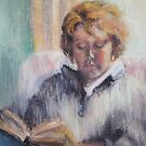 Girl Reading by Mrswillow