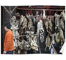 China, 2010, Nanjing, One man's meat... Poster