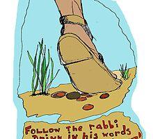 Follow the rabbi by Shoshonan