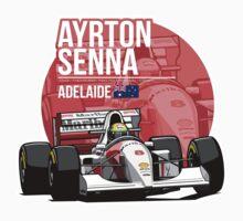 Ayrton Senna - 1993 Adelaide Kids Clothes